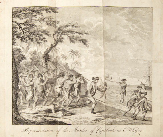 COOK'S THIRD VOYAGE. [RICKMAN, JOHN.] Journal of Captain Cook's last voyage to the Pacific Ocean on Discovery; performed in the Years 1776, 1777, 1778, 1779 ... Faithfully Narrated from the original MS. London: E. Newbery, 1781.