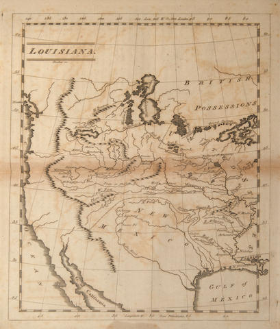 CAREY, MATHEW. 1760-1839. Carey's American Pocket Atlas.... Philadelphia: Mathew Carey, 1805.