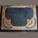 A Chinese carpet  size approximately 13ft. 10in. x 14ft. 3in.