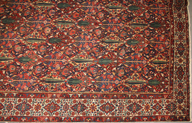A Bakhtiari carpet  size approximately 13ft. 4in. x 16ft. 5in.