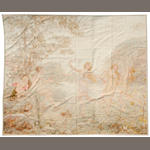 An Aubusson tapestry <BR />late 19th century