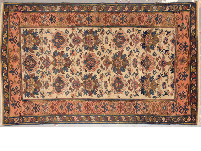 A Shirvan rug  size approximately 3ft. 6in. x 5ft. 2in.