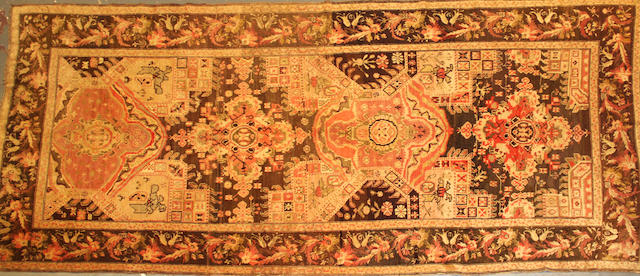 A Karabagh long carpet Caucasus size approximately 6ft. 7in. x 15ft.