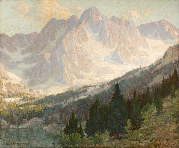 Edgar Payne (1883-1947) The Topmost Peak 48 x 58in