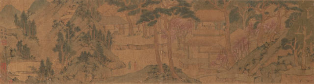 After Wen Zhengming (19th/20th century) Spring Landscape