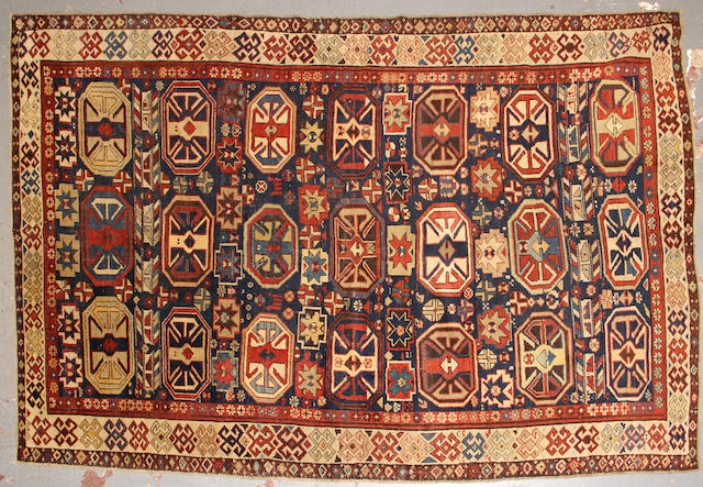 A Kazak rug  size approximately 5ft. 9in. x 8ft. 10in.