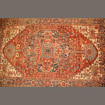 A Heriz carpet  size approximately 10ft. 1in. x 16ft. 2in.