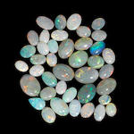 Large Group of Opals