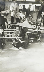 """LYON, HYLAND """"BUD."""" 1908-1973. A large collection of photographs, correspondence, and memorabilia, much of it relating to Lyon's years in China, 1934-1941, but also including early and late material, as follows:<BR />"""