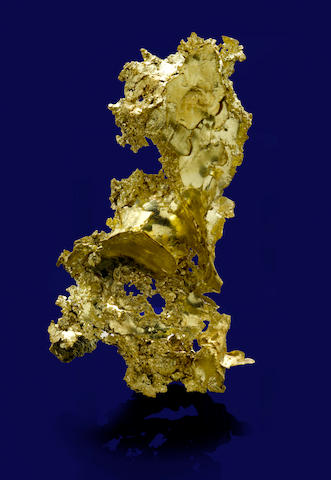 Highly Aesthetic California Leaf Gold Specimen