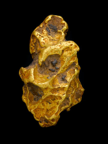 Gold Nugget with Ironstone