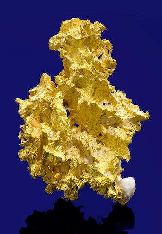 "California Crystalline Gold-in-Quartz Specimen--""The Mini Whopper"""