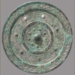 A white bronze mirror Eastern Han dynasty, 20-220 CE