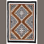 A Two Grey Hills tapestry rug