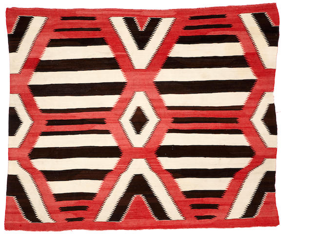 A Navajo chief's design rug