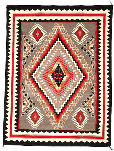 A large Navajo Klagetoh rug