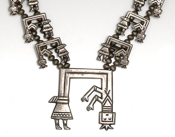A Navajo necklace