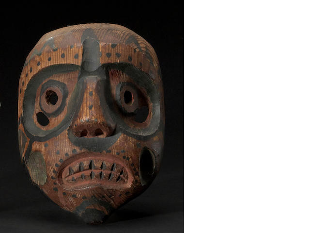 A Bella Coola mask