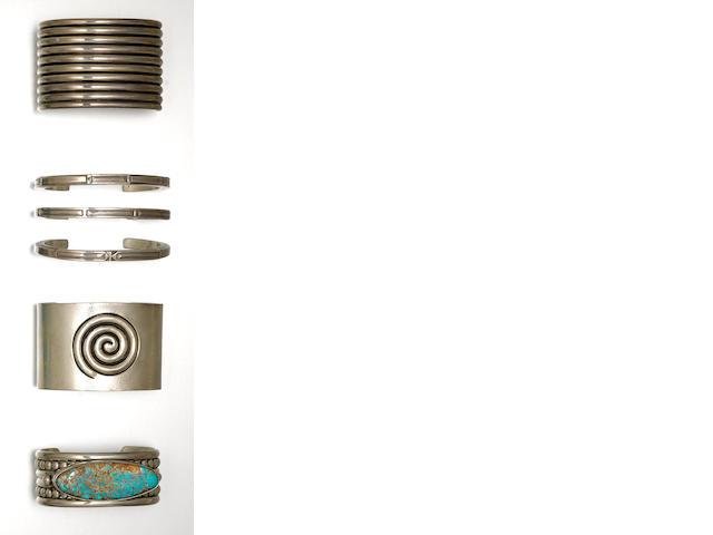 Six Pueblo bracelets