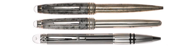 MONTBLANC: Soulmakers for 100 Years Limited Edition 1906: Lot of Three Instruments