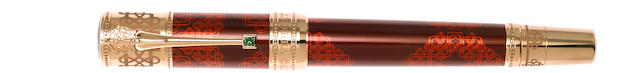 MONTBLANC: Elizabeth I Patron of Art Series Limited Edition 888 Fountain Pen