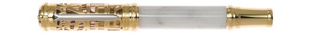 MONTBLANC: Gaius Maecenas Patron of Art Series Limited Edition 888 Fountain Pen