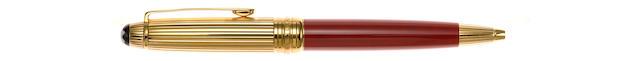 MONTBLANC: Meisterstück Solitaire Mozart Coral Ballpoint Pen