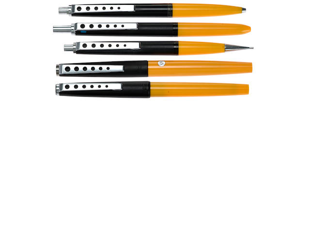 MONTBLANC: Carrera 5-Piece Set (FP, RB, BP, 4-color BP, MP)