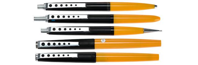 MONTBLANC: Carrera 5-Piece Set (FP, RB, BP, 4-color BP, MP)