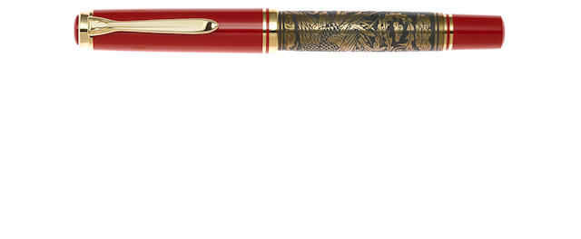 PELIKAN: Golden Phoenix Limited Edition 888 Fountain Pen