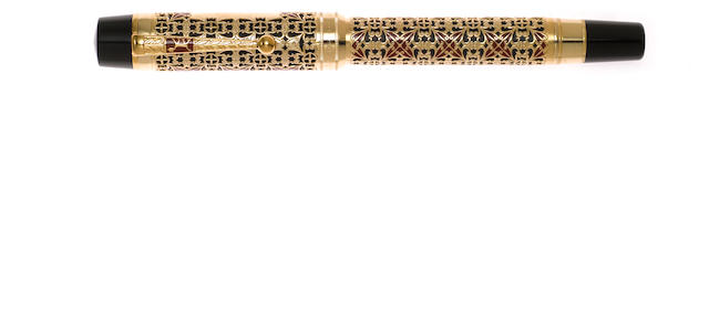 MONTBLANC: Semiramis Patron of Art Series Limited Edition 4810 Fountain Pen