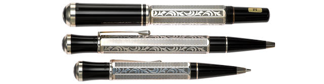 MONTBLANC: Marcel Proust Writers Series Limited Edition 3-Piece Set