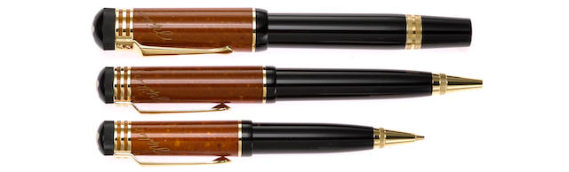 MONTBLANC: Friedrich Schiller Writers Series Limited Edition 3-Piece Set