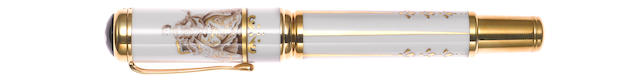 MONTBLANC: Marquise de Pompadour Patron of Art Limited Edition 888 Fountain Pen