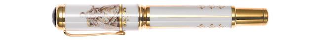 MONTBLANC: Marquise de Pompadour Patron of Art Limited Edition 888 Fountain Pen