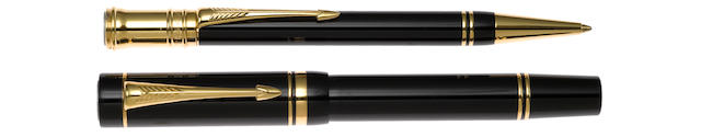 PARKER: Duofold Centennial Pair of Two Instruments