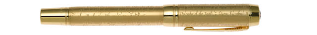 PARKER: Duofold Accession Queen's Jubilee Limited Edition 2500 Fountain Pen