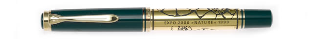 PELIKAN: Expo 2000: Nature Limited Edition Fountain Pen