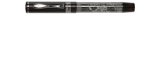 VISCONTI: Shunga Silver Limited Edition Fountain Pen