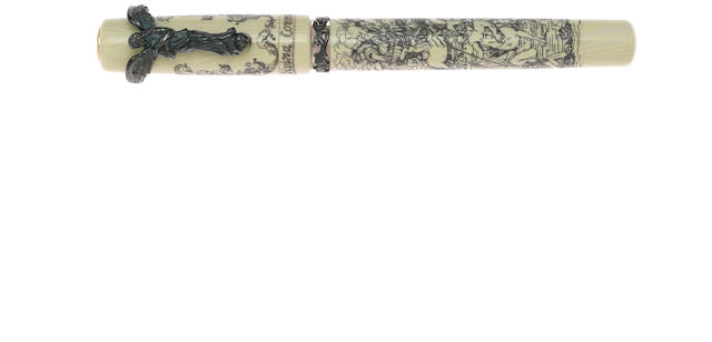 VISCONTI: Divine Comedy Vermeil Limited Edition Fountain Pen