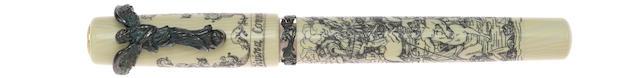 VISCONTI: Divine Comedy Vermeil Limited Edition Fountain Pen