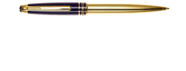 MONTBLANC: Meisterstück Ramses II Lapis & Vermeil Mechanical Pencil