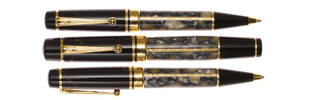 MONTBLANC: Alexandre Dumas Writers Series Limited Edition 3-Piece Set