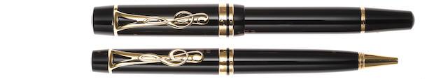 MONTBLANC: Leonard Bernstein Limited Edition Fountain Pen & Ballpoint Pen