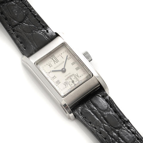 A staybrite strap wristwatch, Jaeger LeCoultre