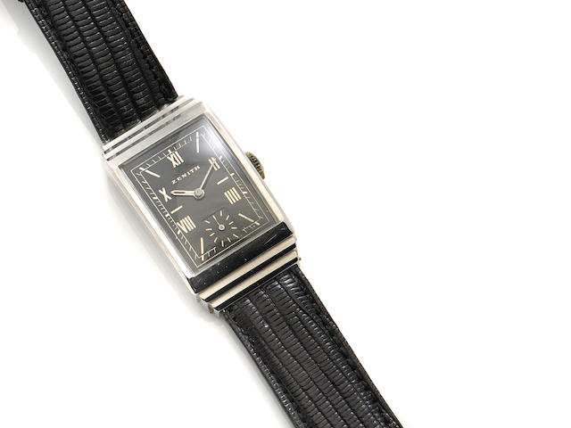 A staybrite strap wristwatch, Zenith