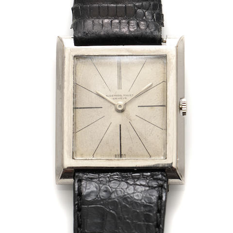 A stainless steel strap wristwatch, Audemers Piaget