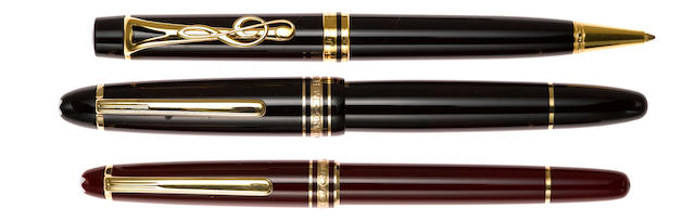 MONTBLANC: Meisterstuck, Set of 3 Pens