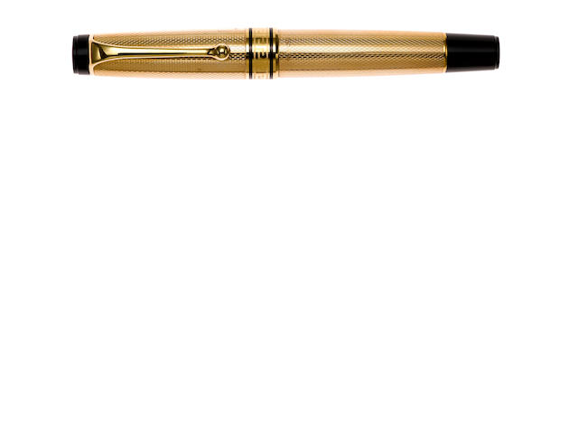 AURORA: 18K Solid Gold Fountain Pen