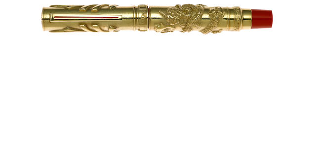 OMAS: 1997 Return to the Motherland Solid Gold Limited Edition Fountain Pen